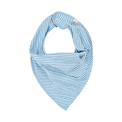 MINYMO Baby Boy Scarf bib solid/print blue ONE SIZE