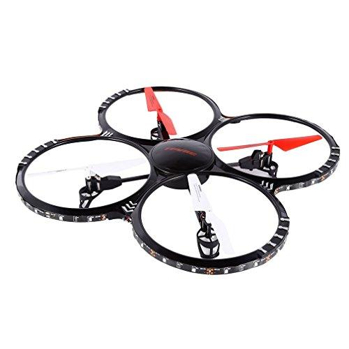 FPVRC U818 Drone con Telecamera HD 2.0MP Quadricottero RC Flip 3D / Modello Senza Testa / LED / H/L 2.4G 4CH 6 Axis Gyro - RTF