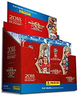 Panini Adrenalyn 2018 World Cup Cards - 36-Pack Box (9 Cards per Pack)