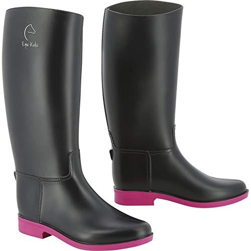 EQUITHEME - Botas para niño, color rosa