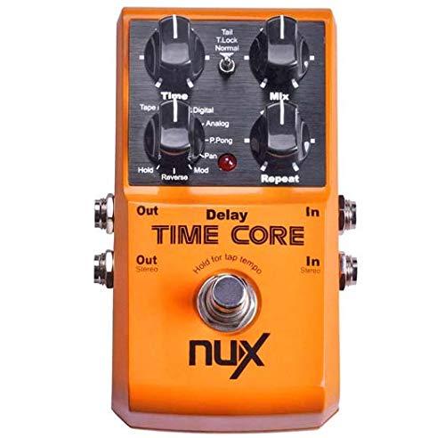 NUX Time Core Deluxe - Pedal de retardo múltiple (8...