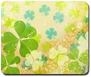 Mouse Mat,Pretty Irish Spring Lucky Clover Mouse Pad MP587
