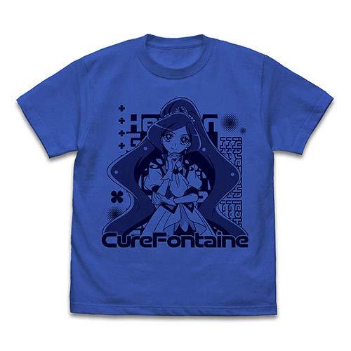ヒーリングっど プリキュア キュアフォンテーヌ Tシャツ/ROYAL BLUE−XL