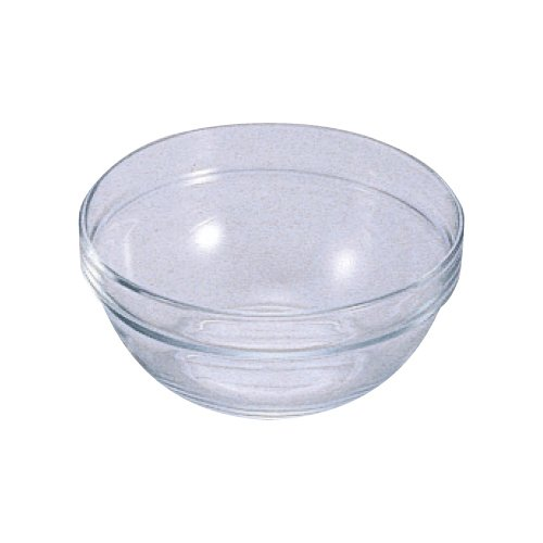 Arcoroc ARC 10027 Empilable Schale, Stapelschale, Schüssel, 17cm, 1 Liter, Glas, transparent, 1 Stück