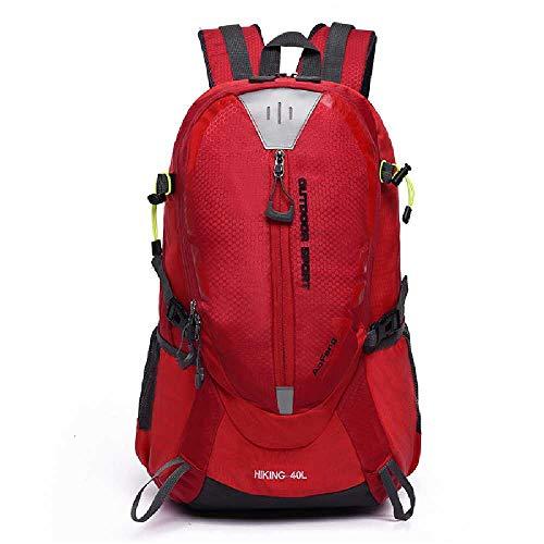 YINGYUAN Hiking Bag Outdoor Backpack Hiking Water Resistant Camping Bag Shoulder Bag School Bag Men