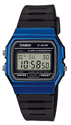 Casio Collection Unisex-Armbanduhr F-91WM-2AEF