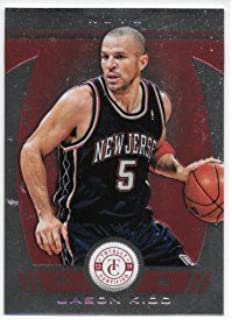 Jason Kidd 2013-14 Totally Certified Red #28/99 New Jersey Nets Parallel Card #258