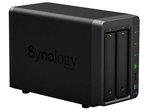 Synology DS214+ NAS 2 Bay Diskless SATA USB 3.0 Disk Station