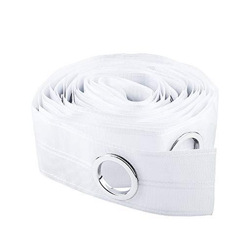 INCREWAY - Nastro adesivo per tende da tenda, 10 m, colore: bianco