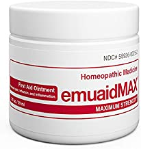 EMUAIDMAX Ointment - Eczema Cream. Maximum Strength Treatment. Use Max Strength for Athletes Foot, Psoriasis, Jock Itch, Anti Itch, Rash, Shingles and Skin Yeast Infection.