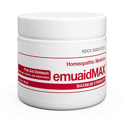 EMUAIDMAX Ointment - Eczema Cream. Maximum Strength Treatment. Use Max Strength for Athletes Foot, Psoriasis,...