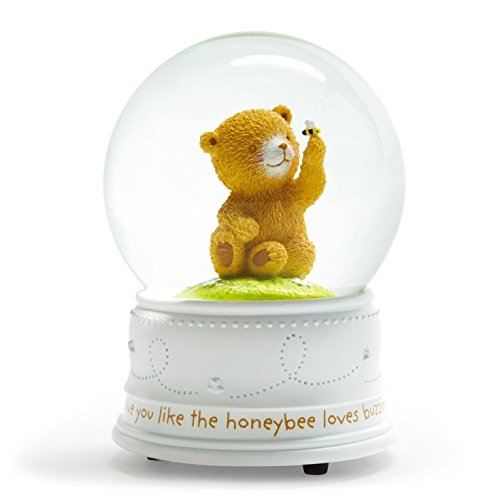 Hallmark Baby Bear & BumbleBee - All The Ways I Love You Waterglobe