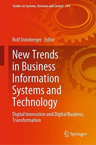 New Trends in Business Information Systems and Technology: Digital Innovation and Digital Business Transformation (Studies in Systems, Decision and Control Book 294) (English Edition)