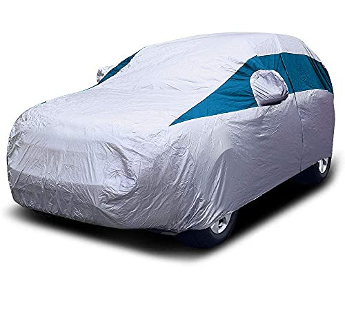 Titan Lightweight Car Cover (Bondi Blue). Mid-Size SUV....