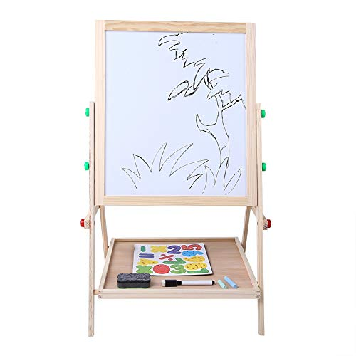 GOTOTOP Kids Art Easel All in One Wooden Drawing...