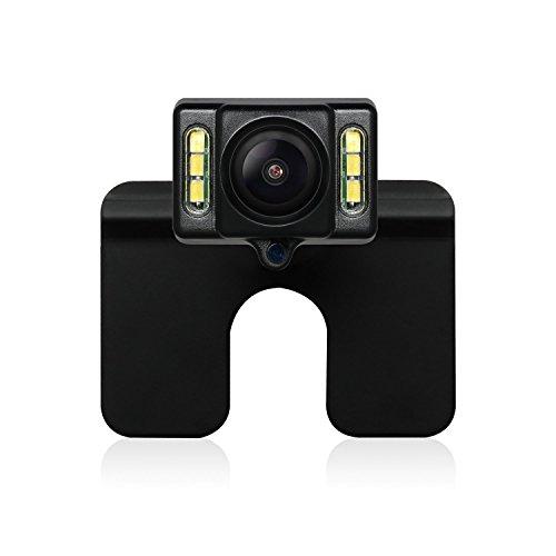 AUTO-VOX CAM1 Telecamera Posteriore Retrocamera per auto con 6 LED, Visione Notturna, Impermeabile IP68