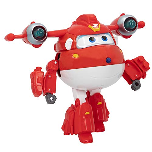 Super Wings - Figura Super Charge luz & Sonido, Jett (ColorBaby 85394)
