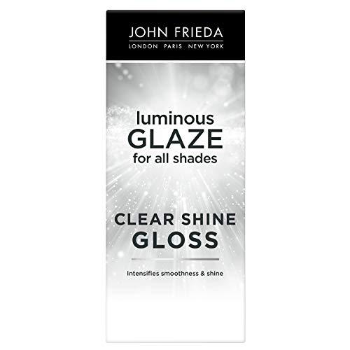 John Frieda Luminous Glaze Clear Shine Gloss, 6.5 Ounces, Anti-Fade, Color Enriching Gloss, Safe for Color Treated Hair