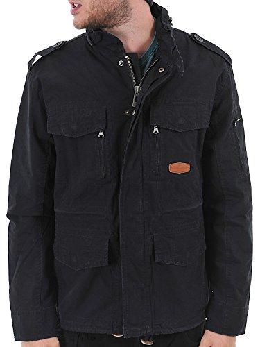 WEST COAST CHOPPERS Jesse James Fool Proof BDU Ripstop Jacke - Schwarz Größe XL, Farbe Schwarz