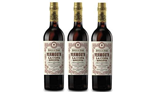 Tio Pepe VermouthLa Copa Reserva - 3 Botellas x 750 ml -...