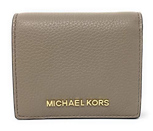 Michael Kors Jet Set Travel Medium Leather Card Case Wallet (Truffle)