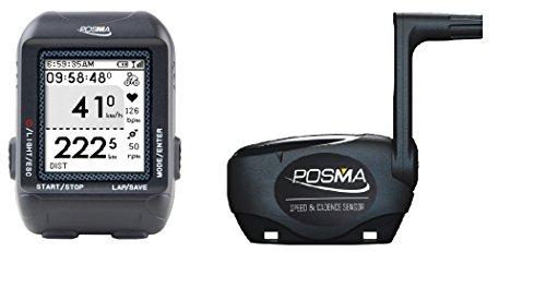 Posma D3 Computadora inalámbrica de bicicleta con velocímetro cuentakilómetros Antena + Conexión...