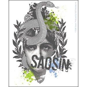 SAOSIN SNAKE LADY, Officially Licensed Original Artwork, Premium Quality, 4' Die-Cut Vinyl STICKER ADESIVO DECAL
