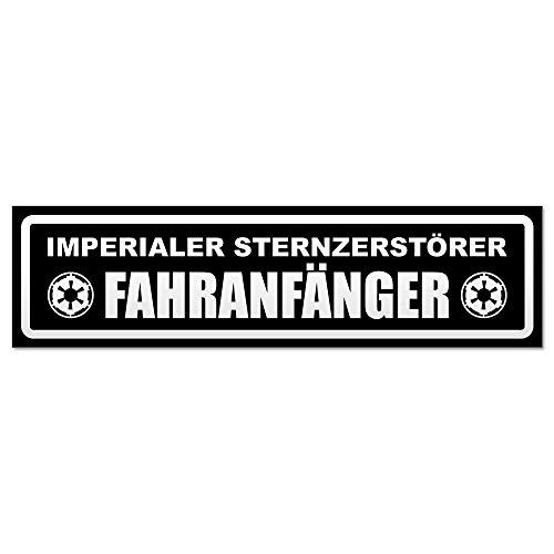 Kiwistar Fahranfänger Imperium invertiert Magnetschild Schild magnetisch