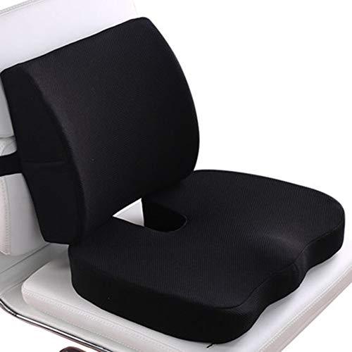 ZXMDP Haemorrhoids Kussens voor rolstoelen Ergonomisch zitkussen voor pijnverlichting inclusief Coccyx-pijn voor autostoel thuiskantoor of rolstoel