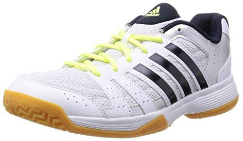 adidas Performance Damen Ligra 3 Volleyballschuhe, Weiß (Ftwr White/Night Navy/Silver Met.), 38 2/3 EU