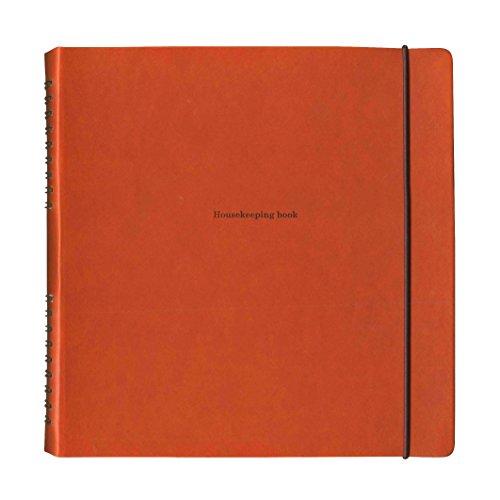ハウスキーピングブック(パヴォ)【ブラウン】 CP014 BR