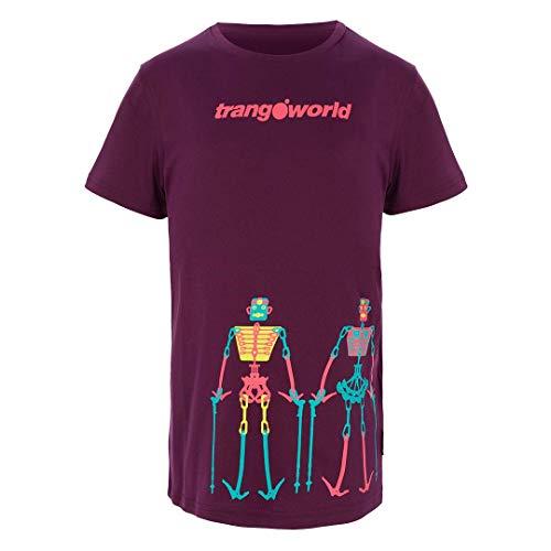 Trangoworld Teleno Camiseta, Unisex niños, Morado Oscuro,