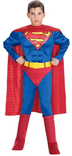 Superman costume for children 5 to 7 years