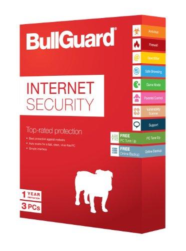 BullGuard Internet Sec. 1Jahr  3pc/100mb Backup Box