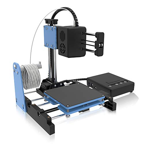 Kacsoo Mini 3D Printer, Children DIY Model Projects Starter Kit, Quick Assembly with Video Teaching,260X260X140mm Printing Size