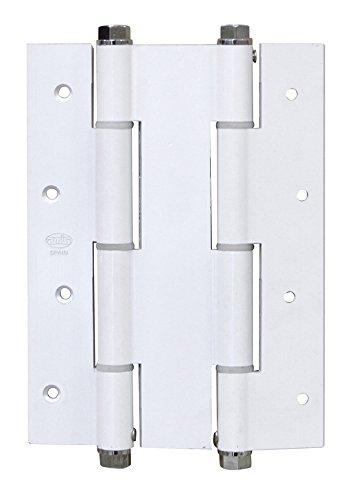 AMIG–Doppelscharnier Zubehör 3035–180x 133,5x 4Stahl Silber
