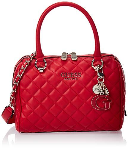 HWVG7667050 RED GUESS GUESS HANDBAG MAIN Borsa Donna