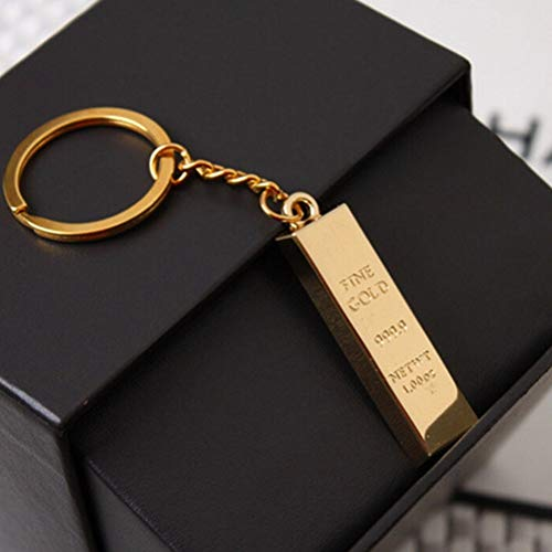 El Hombre de Lujo del Coche Llaveros Accesorios Gold Key Chain encantos de Oro Llaveros Llaveros Mujeres Bolso Colgante de Metal buscador de la Llave Muy Delicado, ZhongXianShangMaoYouXianGongSi