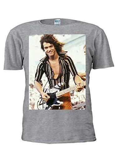 Men's Eddie Van Halen Big Photo T-shirt,