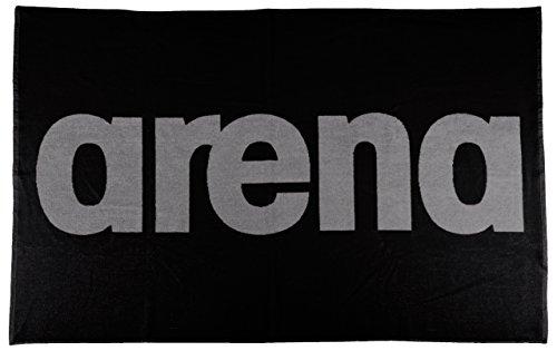 arena Baumwoll Frottee Handtuch Groß Handy (150cm x 100cm), Black-Grey (55), One Size