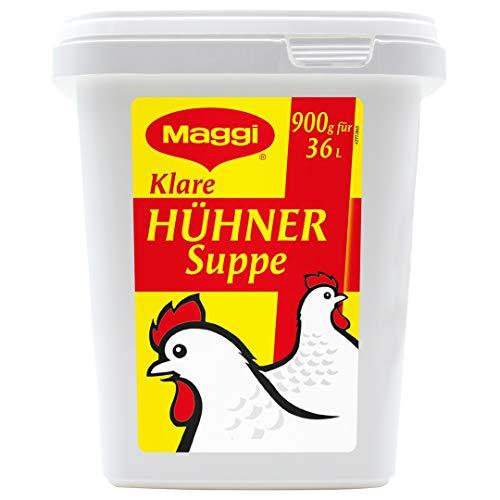 Maggi Klare Hühnersuppe, sofort löslich, 1er Pack (1 x 900g Gastro Box)