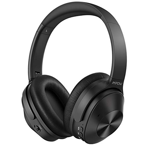 Hybrid Noise Cancelling Headphones, Mpow H12 Bluetooth 5.0 Headphones Over...
