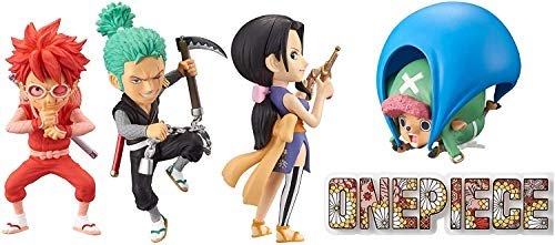 Banpresto One Piece WCF Chibi PVC Statues 7 cm Assortment Wanokuni Style 1 (12)