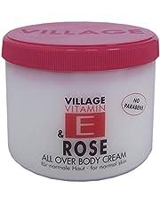 Village Body Cream 500ml met vitamine E
