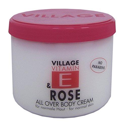 Village 9506-11 Rose Body Cream 500ml mit Vitamin E