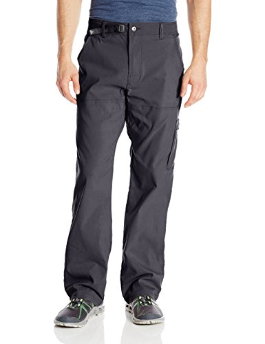 prAna Men's Stretch Zion Pant, Black, 28W 32L