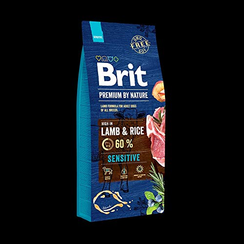 Brit Premium by Nature Sensitive Lamb 15kg Hundefutter Trockenfutter