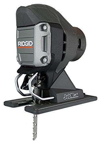 Ridgid R82234071B Compact Jig Saw Head for Job Max Multi Tools with Onboard Blower Port and Tool-Free Blade Changing System (Tool Head Only, Job Max Not Included)