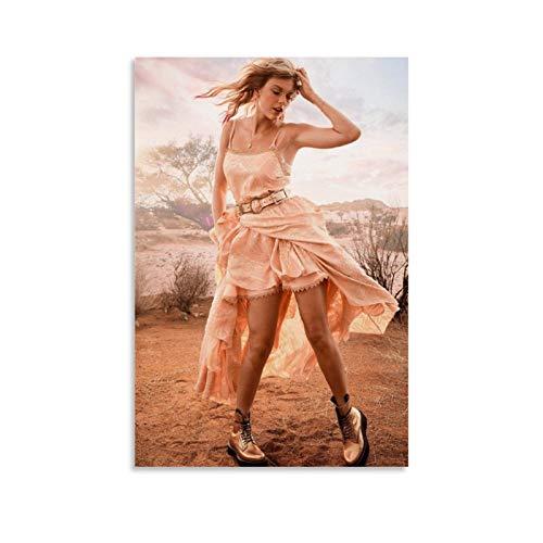 Taylor Swift, cantante americana, compositora, productora y actriz, Taylor Alison Swift, elle Taylor Swift Entertainment Weekly 2019 portada de lienzo y arte de pared, impresión de familia moderna
