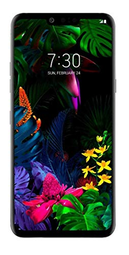 LG G8 ThinQ (G820) 128GB GSM Unlocked Smartphone (AT&T/T-Mobile/Cricket/Simple Mobile / H2O / Mint) - Platinum Gray (Renewed)